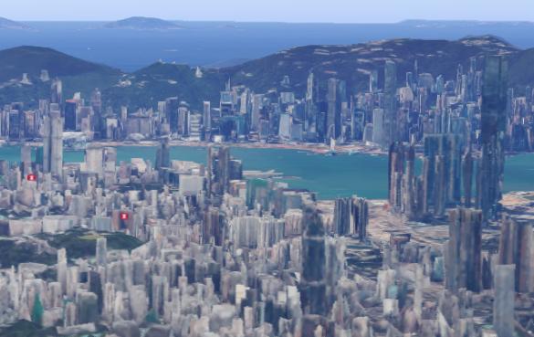hk 3d map